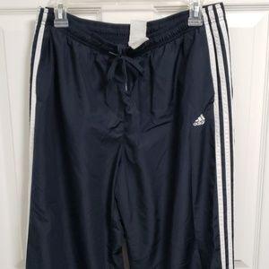 Navy Men's Large Adidas Wind Pants